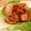 Cómo hacer de Corea Style Chicken Lettuce Wrap