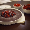 Cómo hacer chocolate sin lactosa Torte & Berry compota