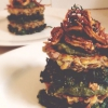Cómo hacer pasteles de lentejas con Pesto - Esteroides vegetarianas