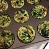 Cómo hacer Muffins Low Carb Crustless del huevo