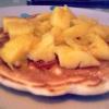 Cómo hacer de Mango y jarabe de arce Panqueques