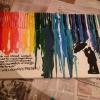 Cómo hacer derretido Crayon Arte (con detalles)
