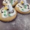 Cómo hacer galletas de fusión del muñeco de nieve