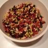 Cómo hacer mexicana Ensalada de Frijoles