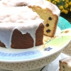 Cómo hacer Mile High limón Blueberry Pound Cake