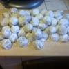 Cómo hacer Mini Chip y pacana Snowball cookies