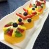 Cómo hacer Mini tartas de la fruta con crema de mascarpone