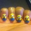 Cómo hacer Minion Nails!