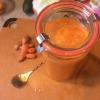 Cómo hacer Minneola, zanahoria y jugo de cúrcuma