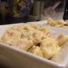Cómo hacer Mushroom Alfredo tortillini