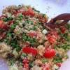 Cómo hacer que mi favorito Ensalada quinoa!