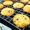 Cómo hacer harina de avena pasas cookies