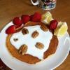 Cómo hacer Naranja-avena Pancakes