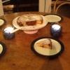 Cómo hacer melocotón y frambuesa Tarta