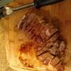 Cómo hacer mermelada de melocotón glaseado lomo de cerdo