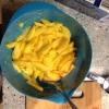 Cómo hacer Peach Pie (Relleno) Con jengibre confitado