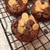 Cómo hacer la mantequilla de cacahuete Brownie Bites