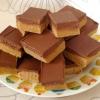 Cómo hacer que los cuadrados de chocolate de mantequilla de maní