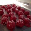 Cómo hacer Peppermint Cake Balls.