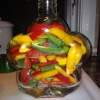Cómo hacer escabeche dulce Peppers
