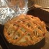Cómo hacer pastel de la corteza (con queso al horno en él!)