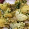 Cómo hacer piñones Ensalada de patata