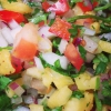 Cómo hacer salsa de piña