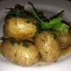 Cómo hacer patatas con mantequilla y perejil