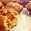 Cómo hacer magdalenas rellenas-Mantequilla de maní proteína