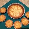 Cómo hacer calabaza pastel de queso del remolino del Pie