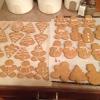 Cómo hacer galletas de la calabaza de pan de jengibre con glaseado Spiced