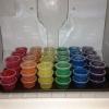 Cómo hacer Rainbow Jell-O Disparos