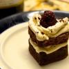 Cómo hacer frambuesa remató Espresso Brownies
