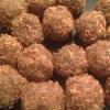 Cómo hacer primas coco Goji Berry Bites