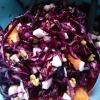 Cómo hacer ensalada de col cruda Red