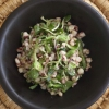 Cómo hacer Red Maíz y Sprout Peanut Salad Dressing Chili