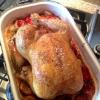 Cómo hacer pollo asado con ciruelas