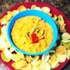 Cómo hacer pimientos rojos asados Hummus