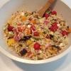 Cómo hacer asado de verduras Ensalada de Orzo