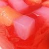 Cómo hacer Rose Jalea Con Los Cubos de la piña