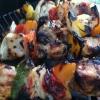 Cómo hacer Romero Pollo Kebabs