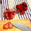 Cómo hacer Rubí-color Strawberry Jam