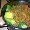 Cómo hacer senegalés arroz y pescado / carne