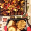 Cómo hacer Shishkabobs y parrilla Pan