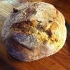 Cómo hacer pan de pan amargo Basado en centeno y harina de trigo