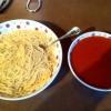 Cómo hacer espaguetis Tacos