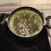 Cómo hacer que la espinaca y de Riñón Red Bean Caldo / sopa