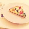Cómo hacer Espinacas Feta + Pie Con gluten corteza Camote