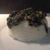 Cómo hacer espinacas con salsa de ostras y arroz