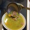 Cómo hacer de guisantes y jamón sopa